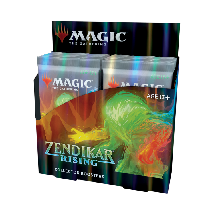 Wizards of the Coast Magic the Gathering: Zendikar Rising - Collectors Booster Box (Preorder)