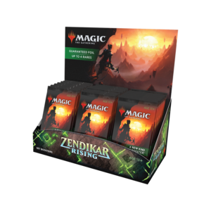 Wizards of the Coast Magic the Gathering: Zendikar Rising - Set Booster Box