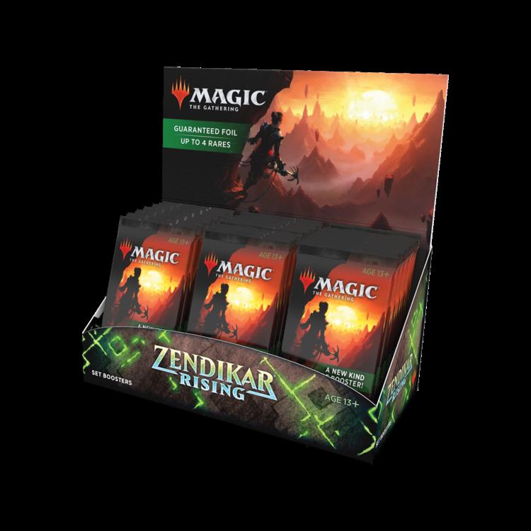 Wizards of the Coast Magic the Gathering: Zendikar Rising - Set Booster Box