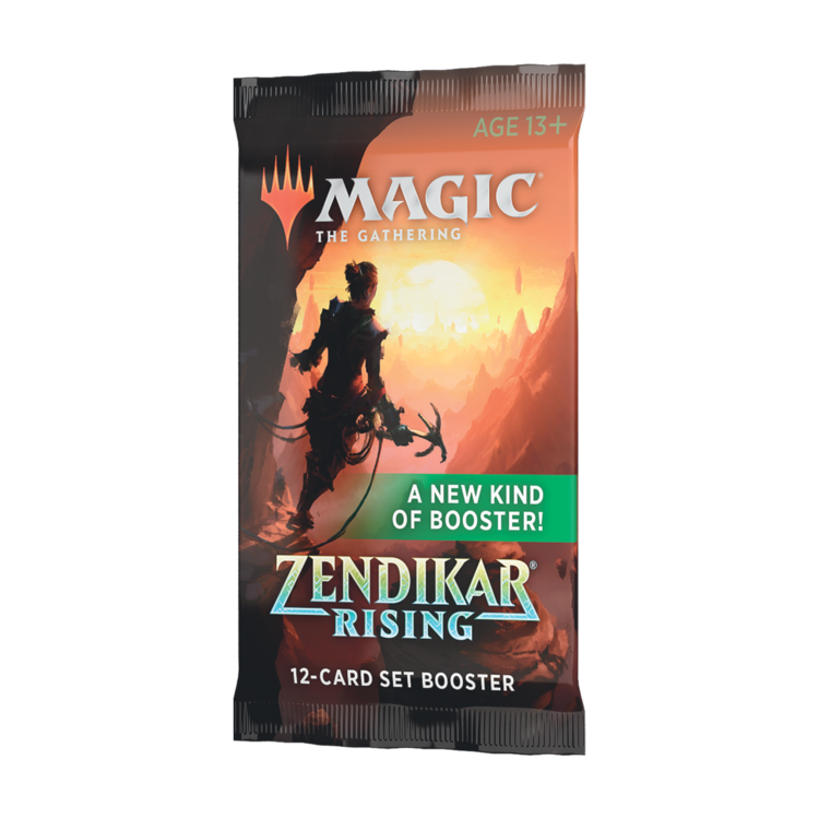 Wizards of the Coast Magic the Gathering: Zendikar Rising - Set Booster Pack
