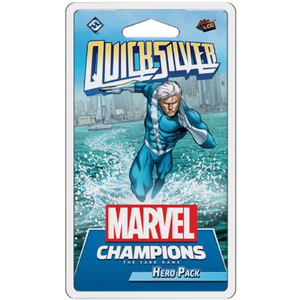 Fantasy Flight Games Marvel Champions Living Card Game: Quicksilver Hero Pack (Preorder)