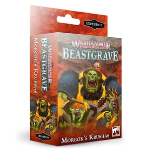 Games Workshop Warhammer Underworlds: Beastgrave – Morgok's Krushas