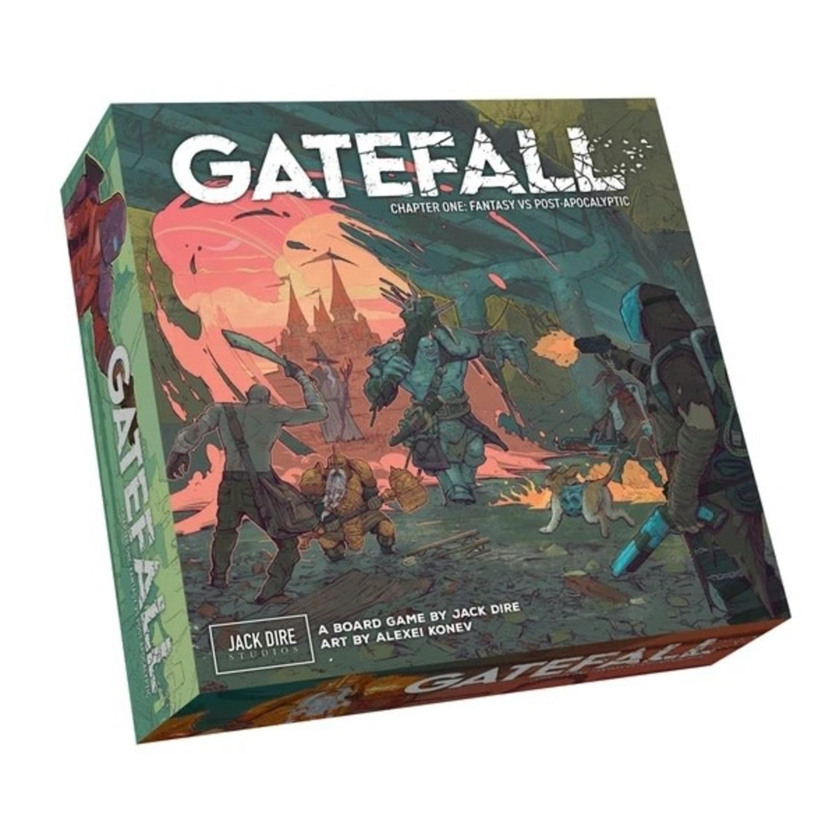Jack Dire Studios Gatefall Chapter One: Fantasy vs Post-Apocalyptic (Kickstarter)