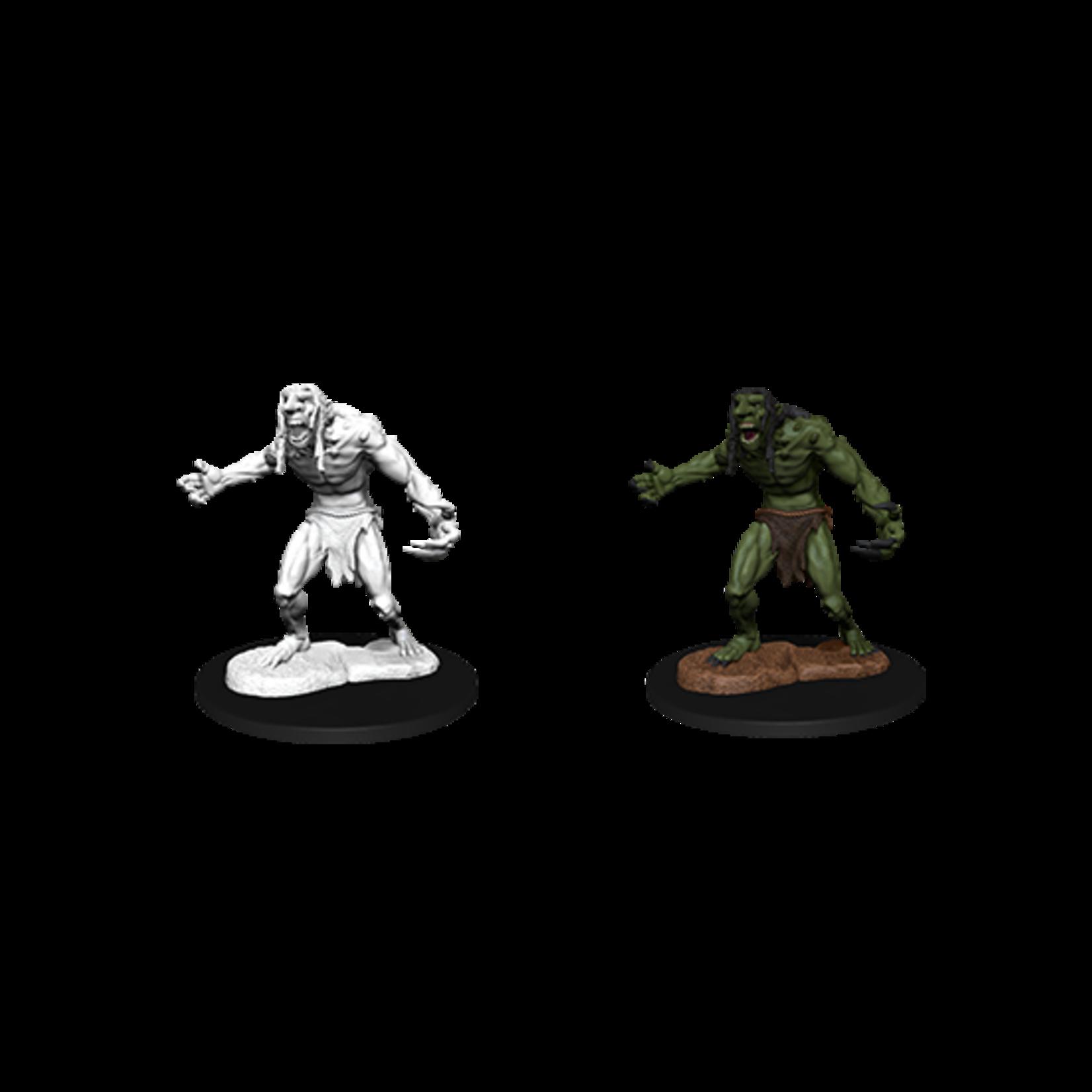 WizKids D&D Nolzur's Marvelous Miniatures: Raging Troll (W12)