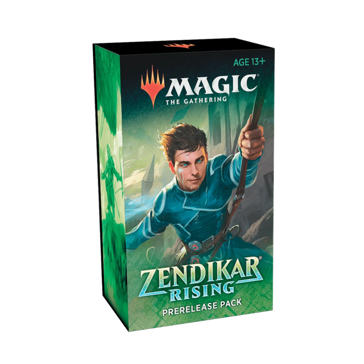 Wizards of the Coast Magic the Gathering: Zendikar Rising - At-Home Prerelease Kit (Preorder)
