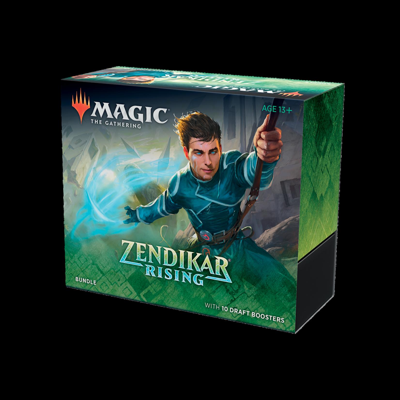 Wizards of the Coast Magic the Gathering: Zendikar Rising - Bundle