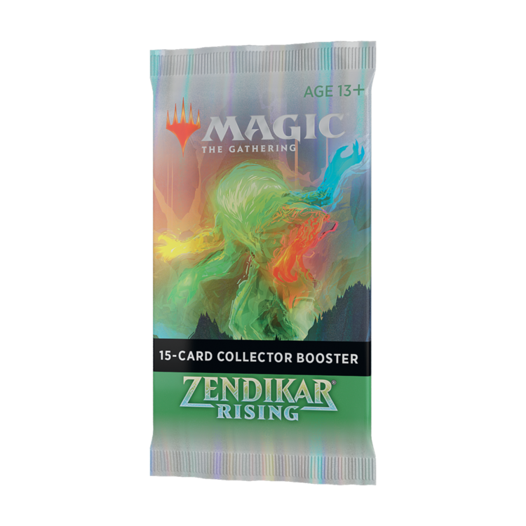 Wizards of the Coast Magic the Gathering: Zendikar Rising - Collectors Booster Pack