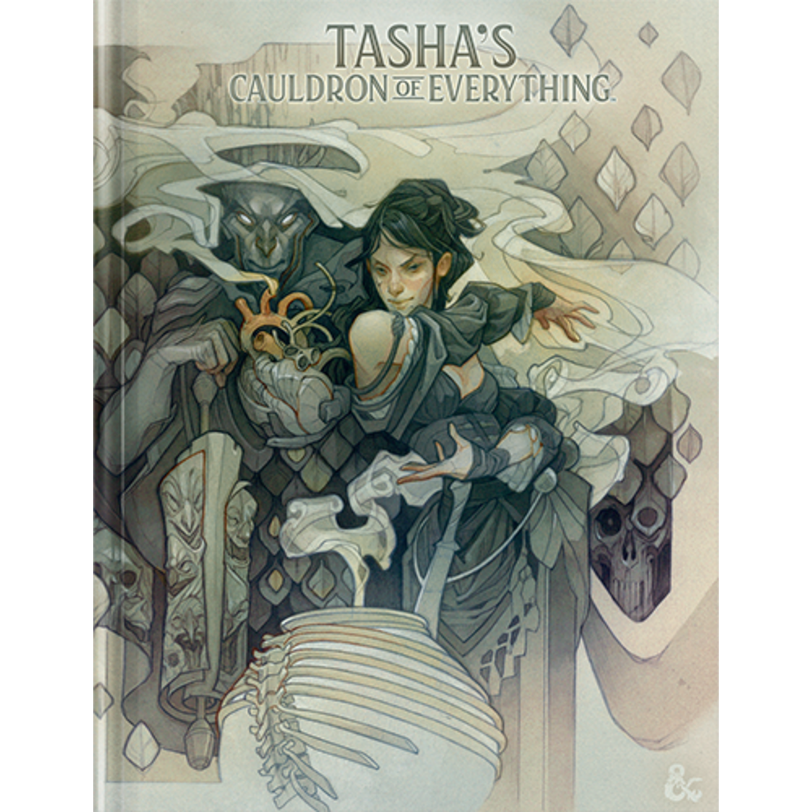 Wizards of the Coast Dungeons and Dragons 5th Edition: Tasha's Cauldron of Everything Hardcover (Alternate Art Cover)