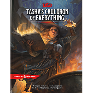 Wizards of the Coast Dungeons and Dragons 5th Edition: Tasha's Cauldron of Everything Hardcover