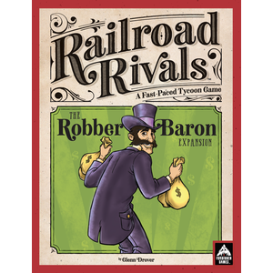 Forbidden Games Railroad Rivals: Robber Baron Expansion - Premium Wood Edition