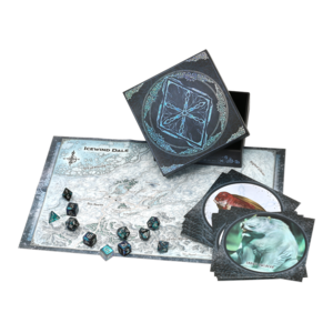 Wizards of the Coast Dungeons and Dragons Roleplaying Game: Icewind Dale - Rime of the Frostmaiden Dice Set