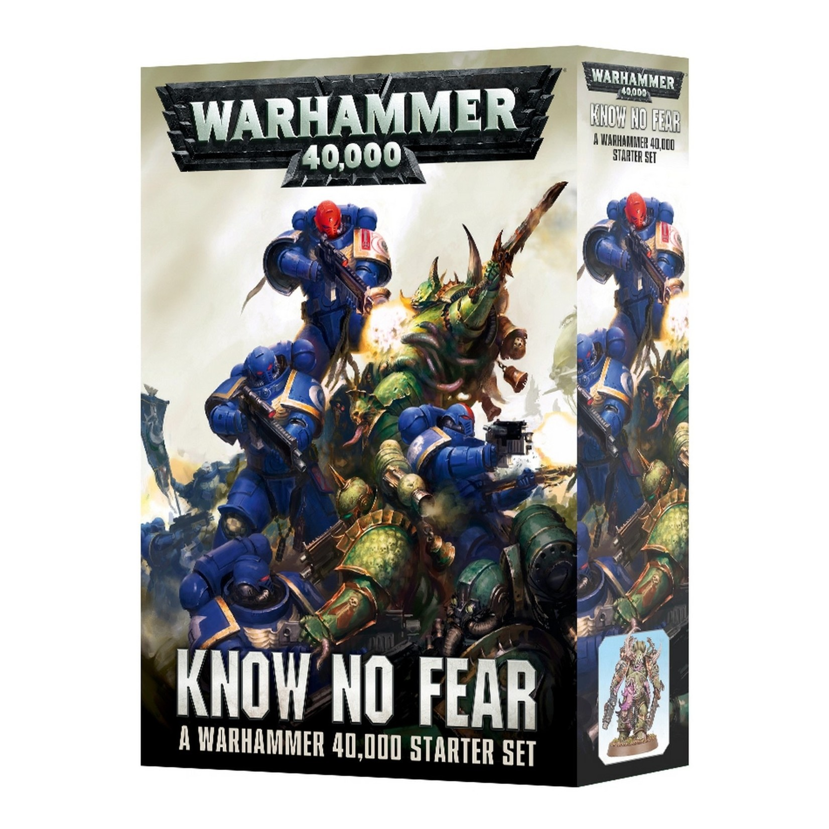 Privateer Press Warhammer 40K: Know No Fear