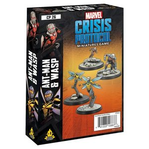 Asmodee Editions Marvel Crisis Protocol: Ant Man and the Wasp Character Pack