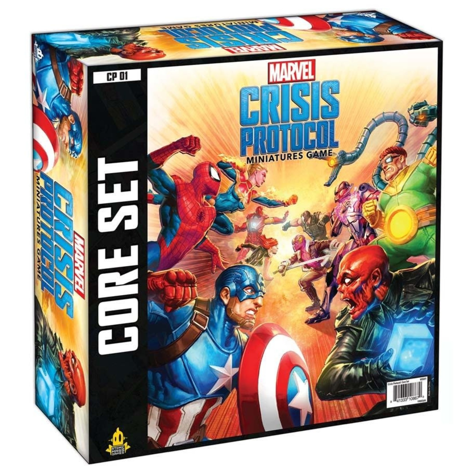 Asmodee Editions Marvel Crisis Protocol Core Set