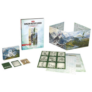 Wizards of the Coast Dungeons and Dragons 5th Edition: Dungeon Master's Screen: Wilderness Kit