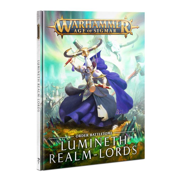 Games Workshop Warhammer Age of Sigmar: Battletome - Lumineth Realm-Lords