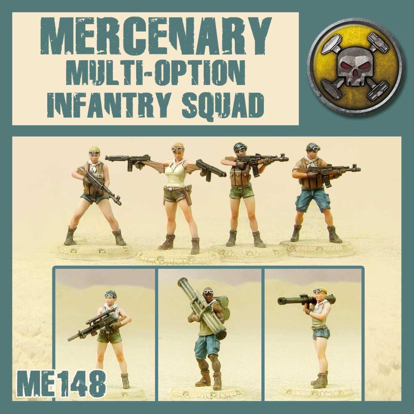 Dust Dust 1947: Mercenary Multi-Option Infantry Squad