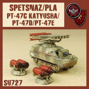 Dust Dust 1947: Spetsnaz/PLA PT-47 Katyusha C-D-E