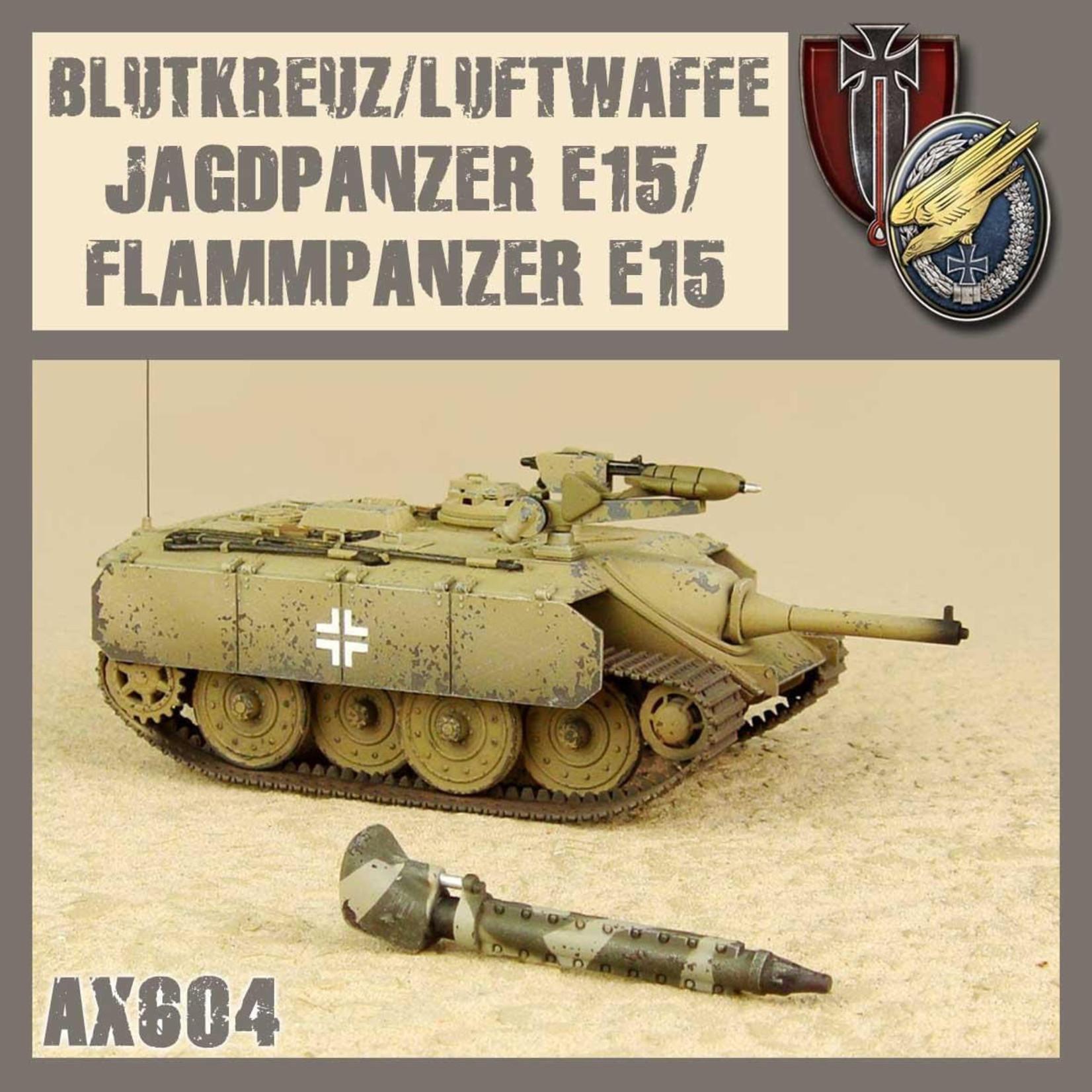 Dust Dust 1947: Blutkreuz/Luftwaffe E15 Jagdpanzer/Flammpanzer