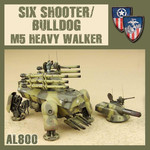 Dust Dust 1947:  Six Shooter/Bulldog M5 Heavy Walker