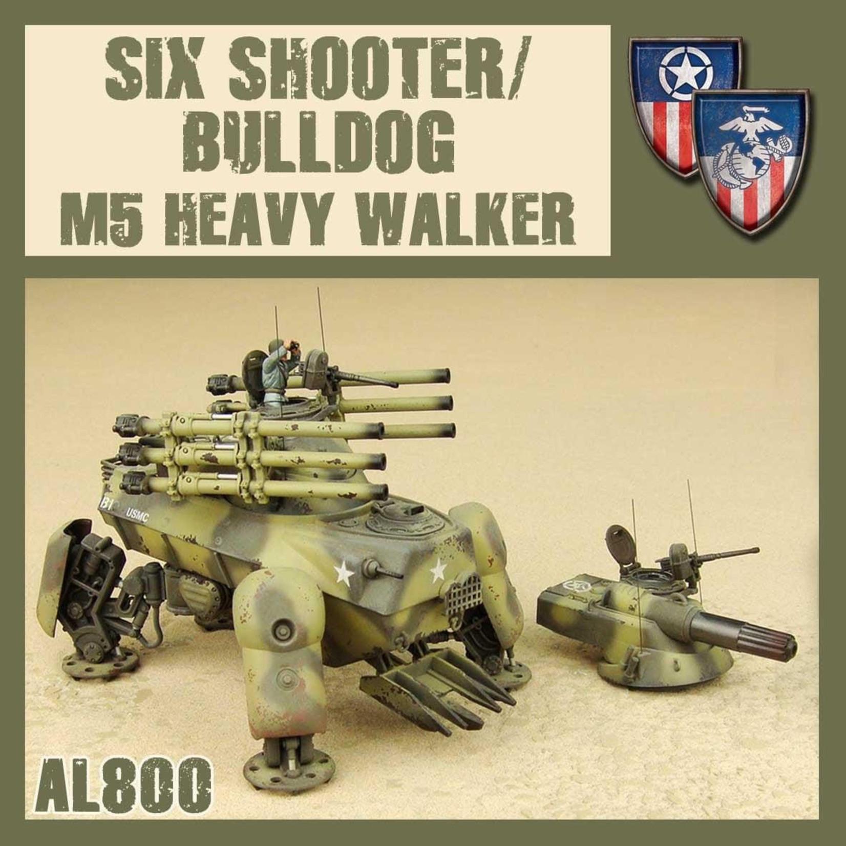 Dust Dust 1947:  Six Shooter/Bulldog M5 Heavy Walker