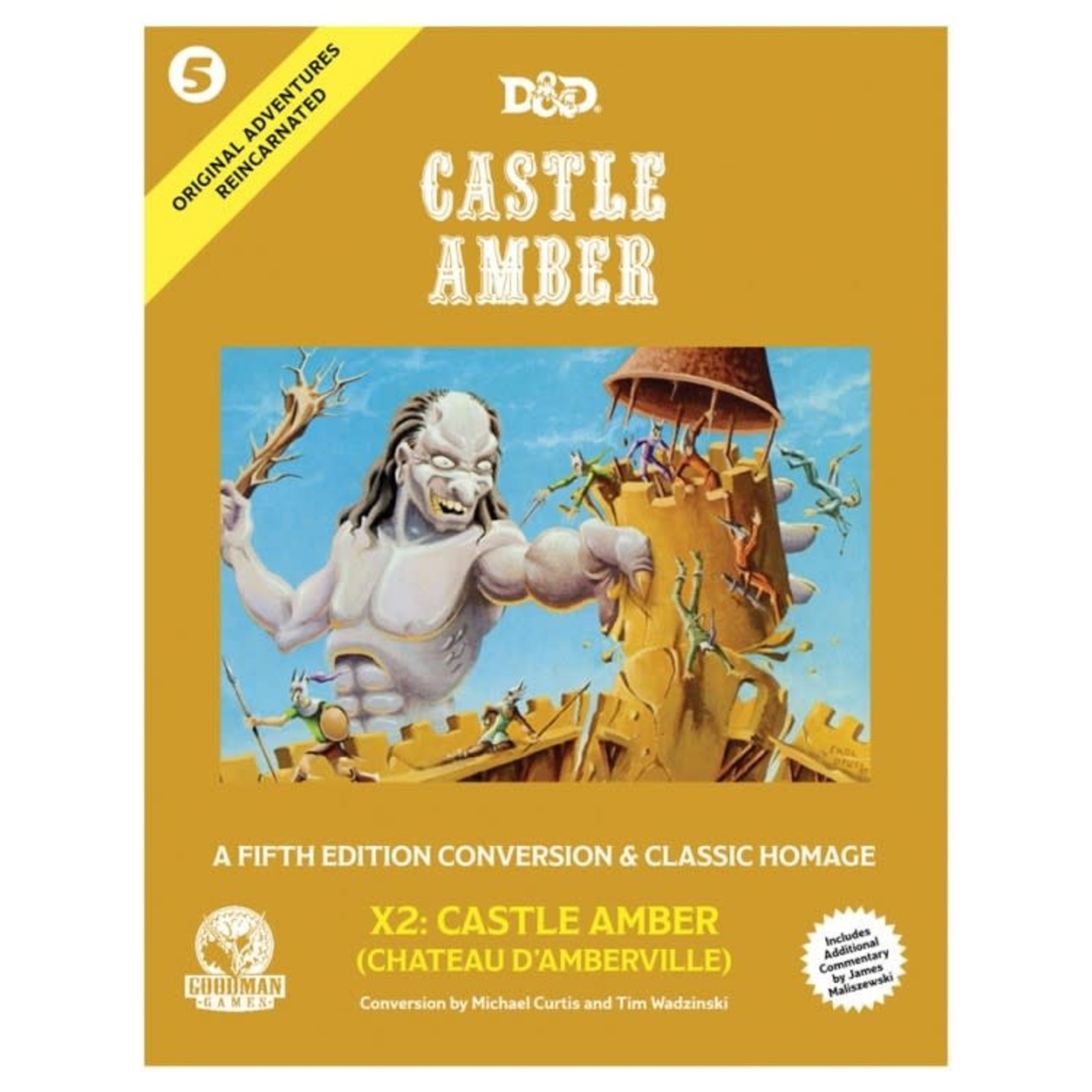 Goodman Games Original Adventures Reincarnated #5: - Castle Amber