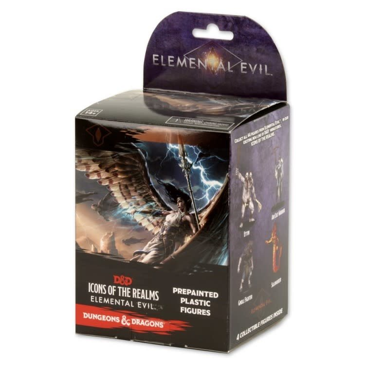 WizKids Dungeons & Dragons: Icons of the Realms: Elemental Evil Booster Brick (8)