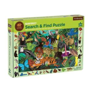Mudpuppy Mudpuppy: 64 Piece Puzzle - Search and Find: Rainforest