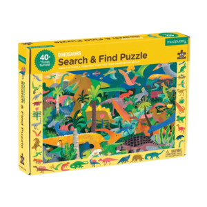 Mudpuppy Mudpuppy: 64 Piece Puzzle - Search and Find: Dinosaurs