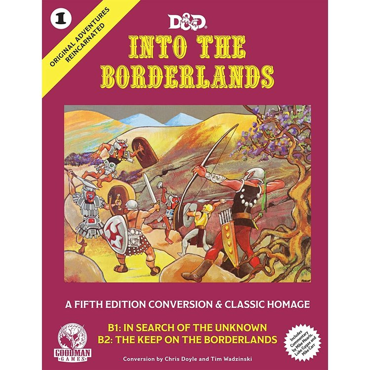 Goodman Games Original Adventures Reincarnated:  - #1 Into the Borderlands Hardcover