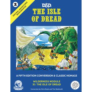 Goodman Games Original Adventures Reincarnated :  - #2 The Isle of Dread Hardcover