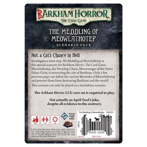 Fantasy Flight Games Arkham Horror LCG: Barkham Horror - The Meddling of Meowlathotep Scenario Pack
