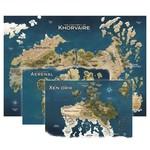 GaleForce9 D&D Eberron - Nations of Khorvaire Map Set