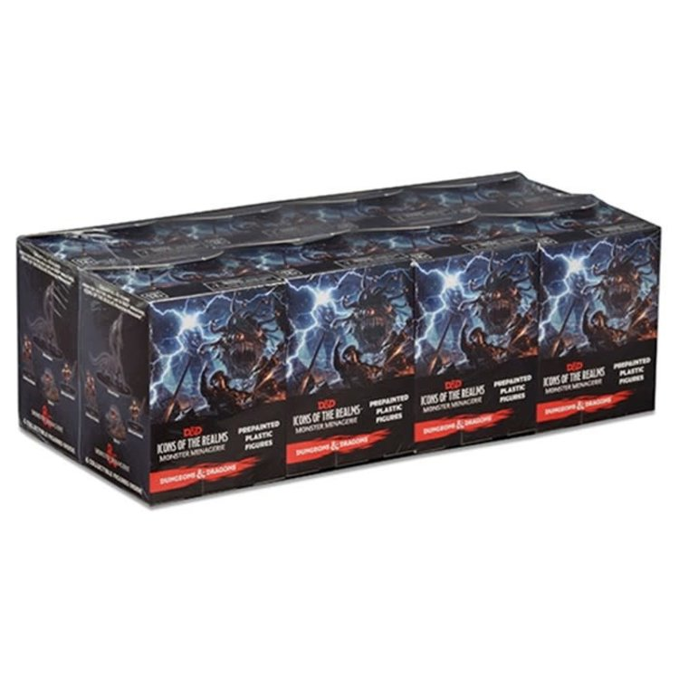 WizKids Dungeons and Dragons Prepainted Miniatures: Monster Menagerie Booster Brick (8)
