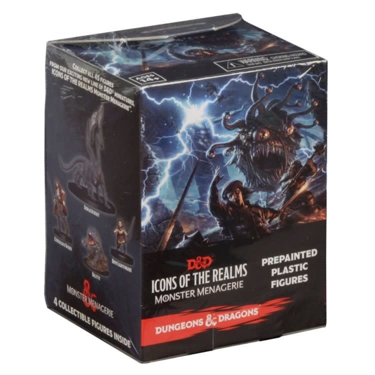WizKids Dungeons and Dragons Prepainted Miniatures: Monster Menagerie Booster Pack