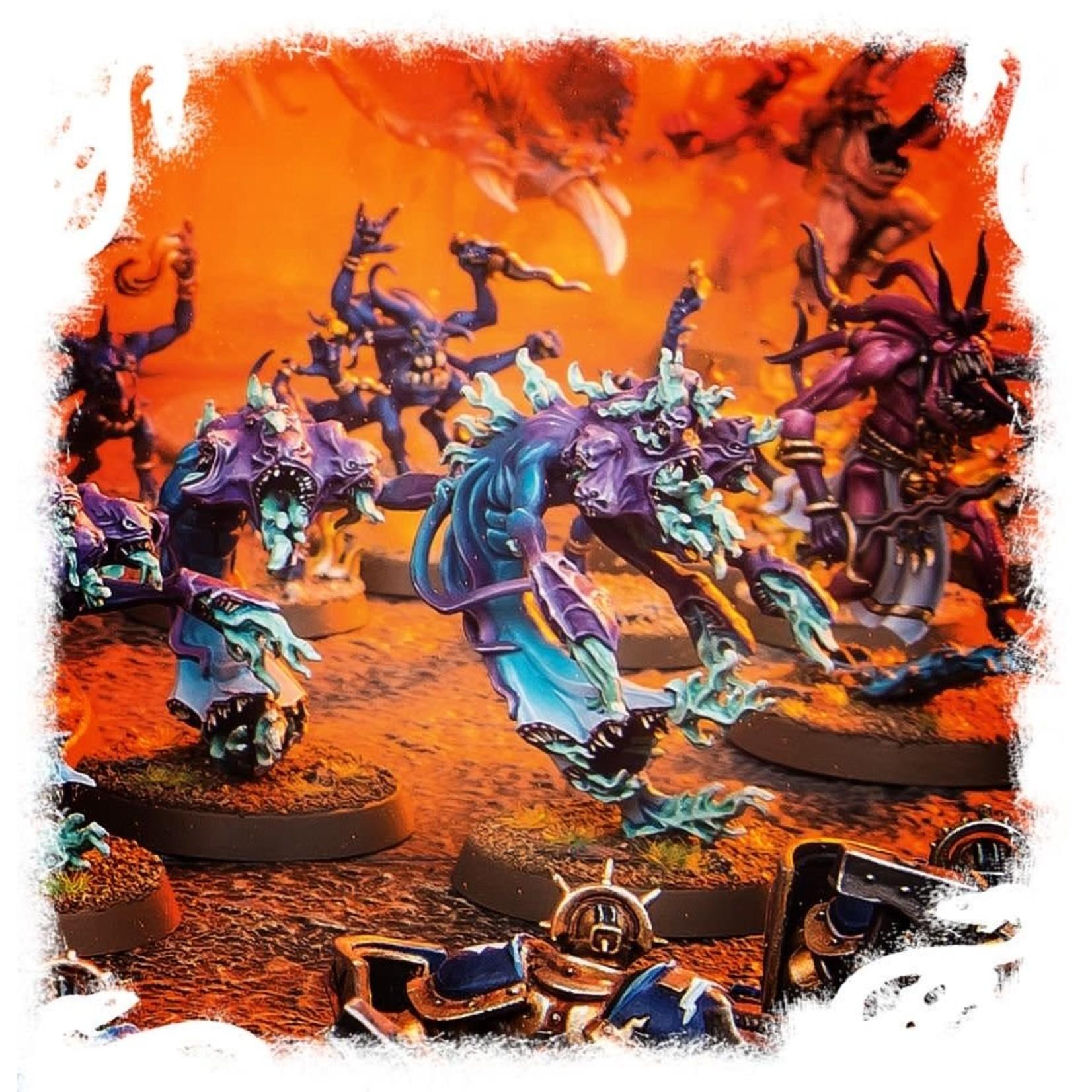 Games Workshop Warhammer Age of Sigmar: Daemons of Tzeentch Flamers of Tzeentch