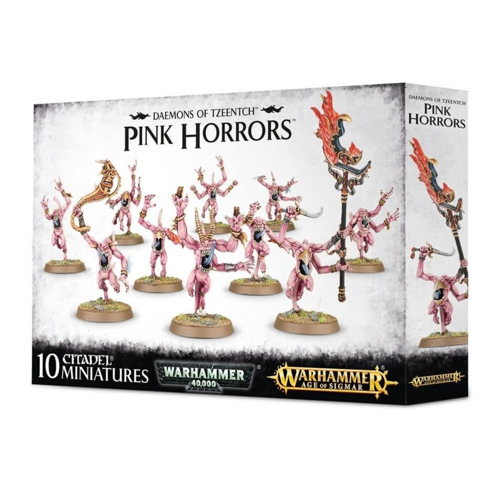 Games Workshop Warhammer Age of Sigmar: Daemons of Tzeentch: Pink Horrors