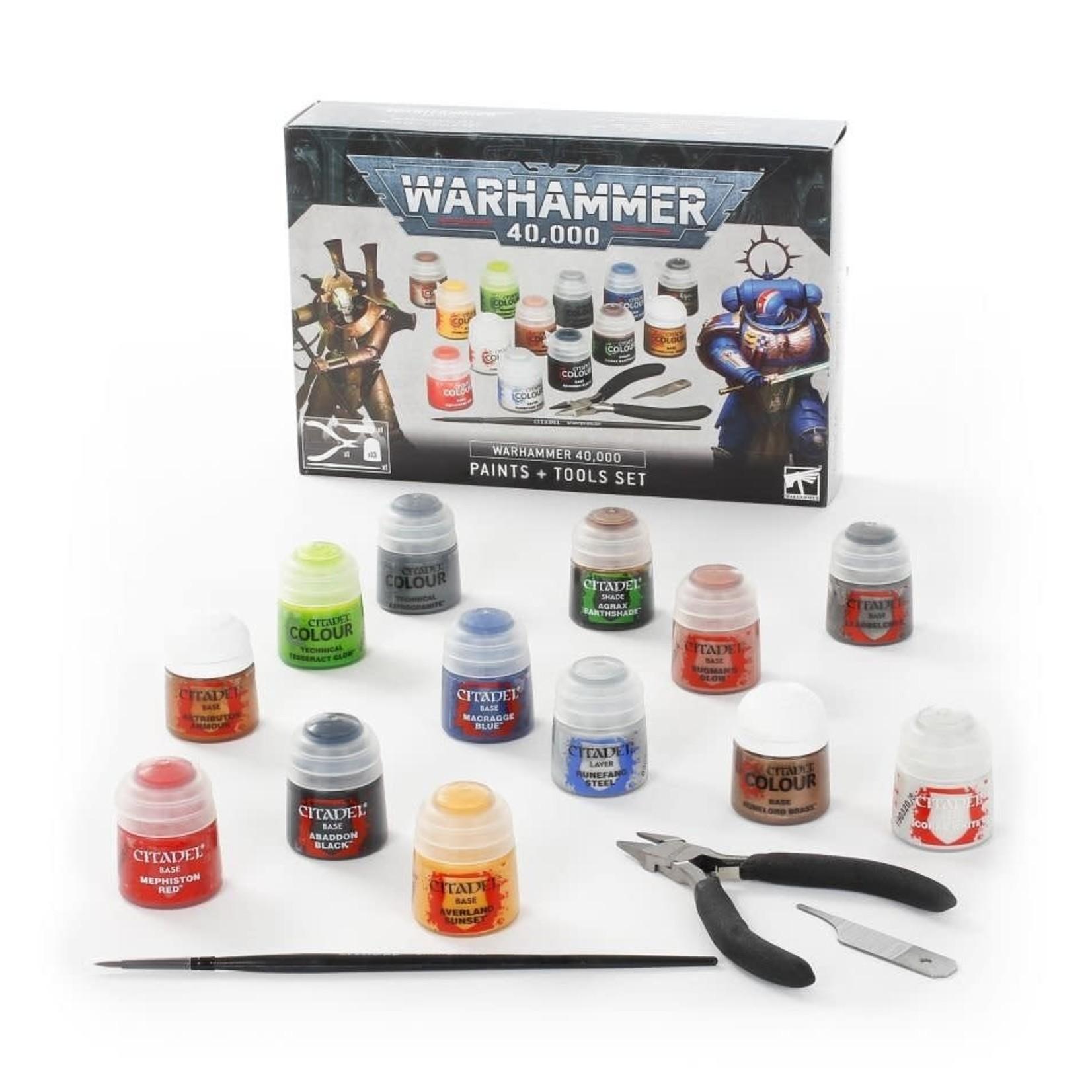 Games Workshop Warhammer 40k: Paints & Tools