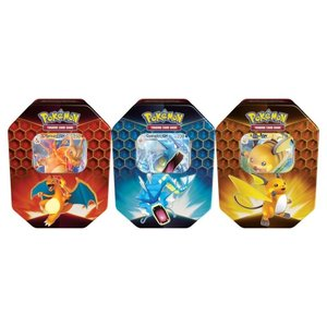 Pokemon International Pokemon Trading Card Game: Hidden Fates Tin - Set of 3