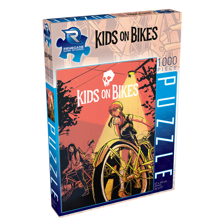 Renegade Kids on Bikes 1000-Piece Puzzle