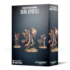 Games Workshop Warhammer 40k: Chaos Space Marines - Dark Apostle