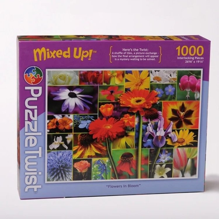 Puzzle Twist Puzzle Twist - 1000 Piece Puzzle: Flowers in Bloom