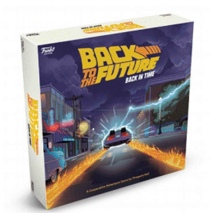 Funko Back to the Future: Back in Time Strategy Game