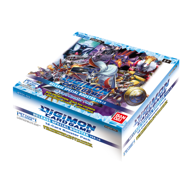 Bandai Digimon Trading Card Game: V1.0 Booster Box (Preorder)