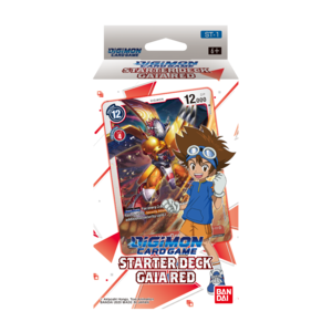 Bandai Digimon Trading Card Game: Starter Deck - Gaia Red