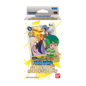 Bandai Digimon Trading Card Game: Starter Deck - Heaven's Yellow