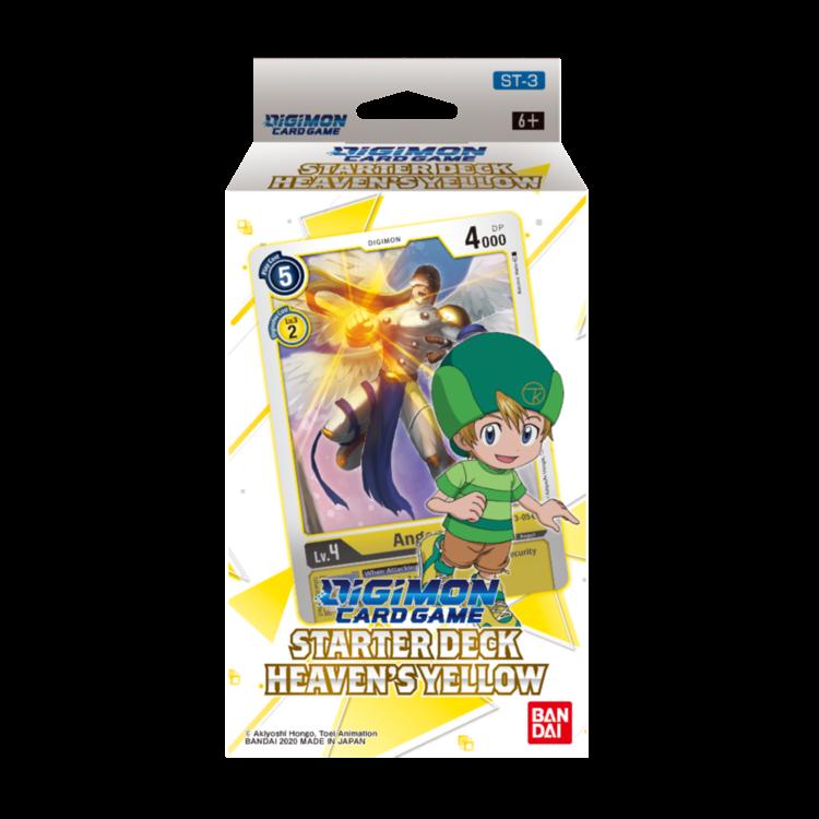 Bandai Digimon Trading Card Game: Starter Deck - Heaven's Yellow (Preorder - 11/28 Pre-Sale)
