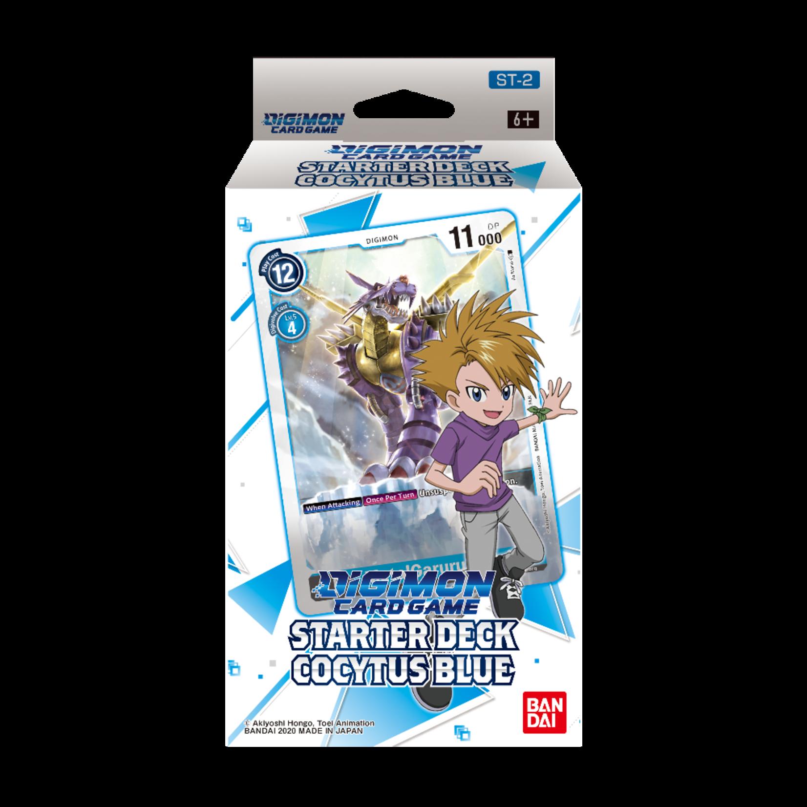 Bandai Digimon Trading Card Game: Starter Deck - Cocytus Blue (Preorder - 11/28 Pre-Sale)