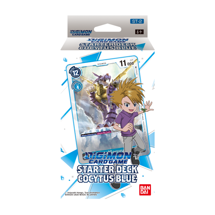 Bandai Digimon Trading Card Game: Starter Deck - Cocytus Blue (Preorder - 11/28 Pre-Sale)
