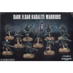 Games Workshop Warhammer 40k: Drukhari - Kabalite Warriors